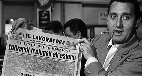 """Alberto Sordi in """"Una vita difficile"""""""