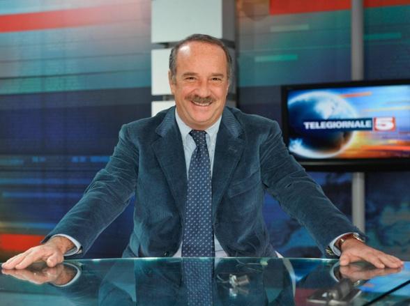 Clemente Mimun, 63 anni, direttore del Tg5