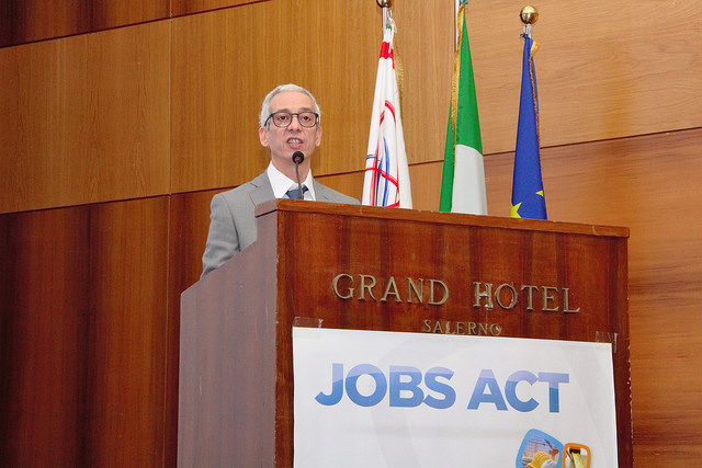 Francesco Cavallaro, segretario generale della Cisal