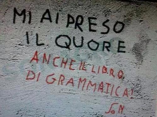 Errori italiano