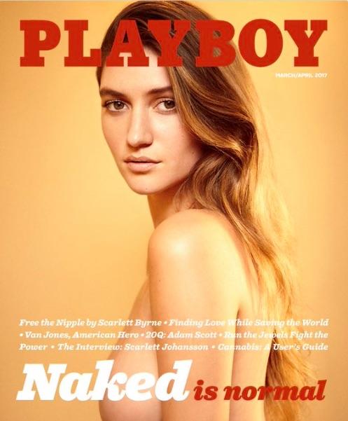 La copertina di Playboy che torna al nudo
