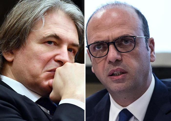 Antonio Campo Dall'Orto e Angelino Alfano