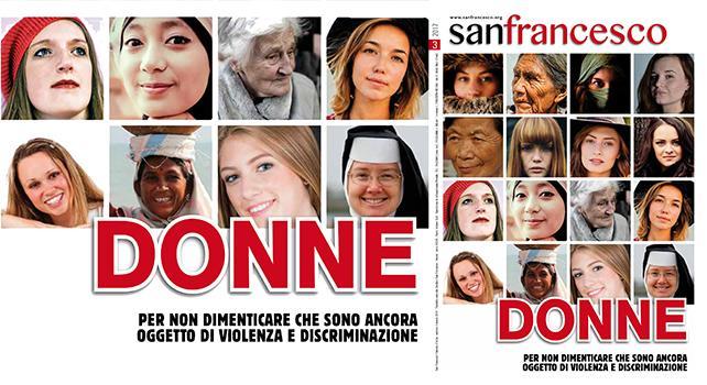 """La copertina di marzo della rivista """"San Francesco"""""""