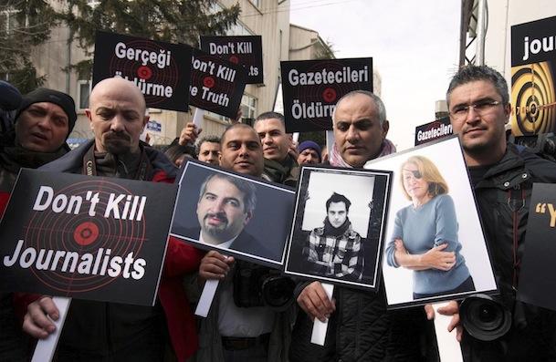 Giornalisti uccisi in Siria