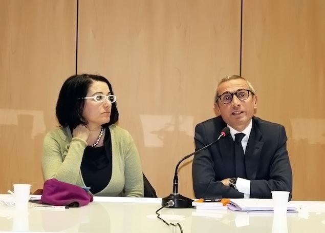 Marilù Mastrogiovanni e Raffaele Lorusso