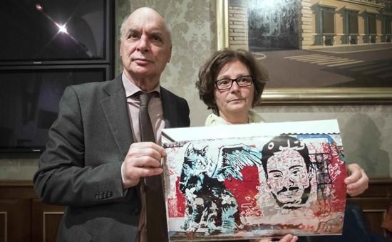 Claudio e Paola Regeni, i genitori di Giulio, ucciso in Egitto
