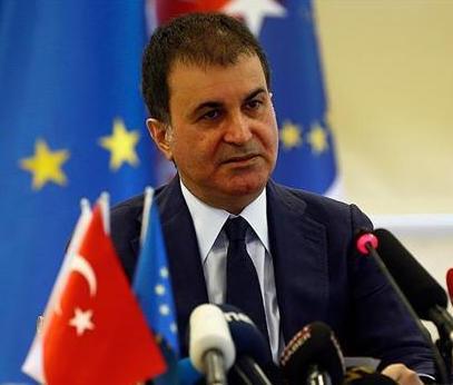 Il ministro turco Omer Celik