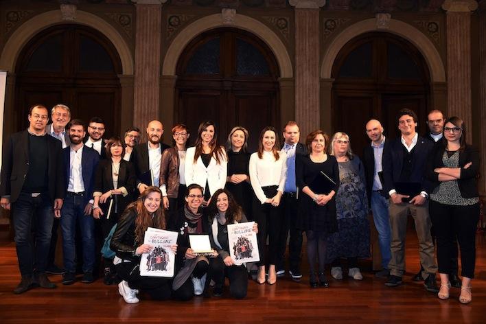 """I premiati del """"Guido Vergani 2017"""" (Foto Simona Chioccia)"""