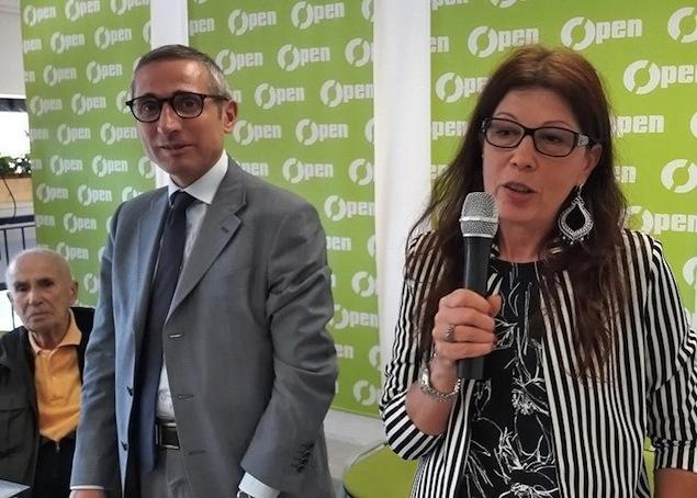 Raffaele Lorusso e Monica Andolfatto