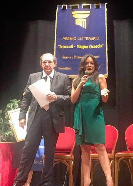 Maria Gabriella Capparelli riceve il Premio Troccoli Magna Graecia