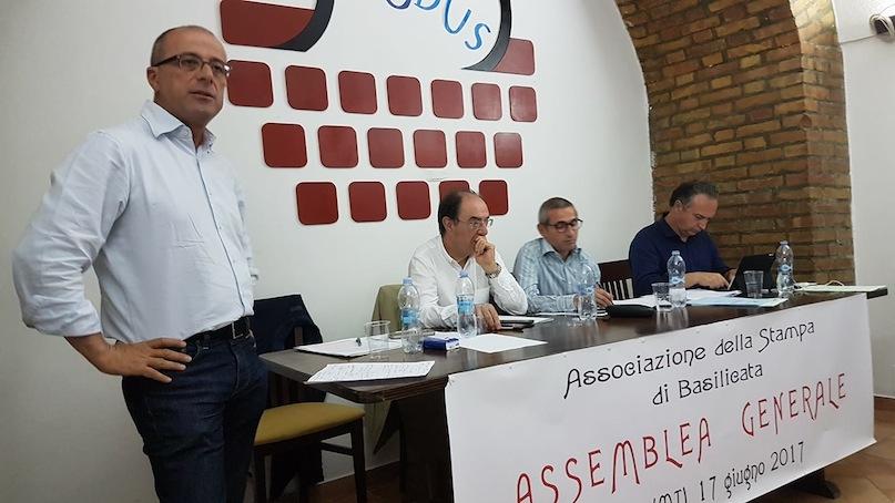 Da sinistra: Umberto Avallone, Renato Cantore, Raffaele Lorusso e Giuseppe Fiorellini