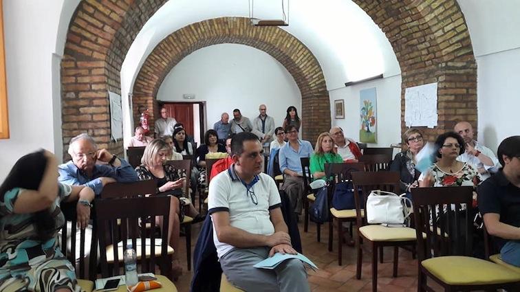 L'Assemblea generale dell'Associazione della Stampa di Basilicata (Foto Giuseppe Fiorellini)