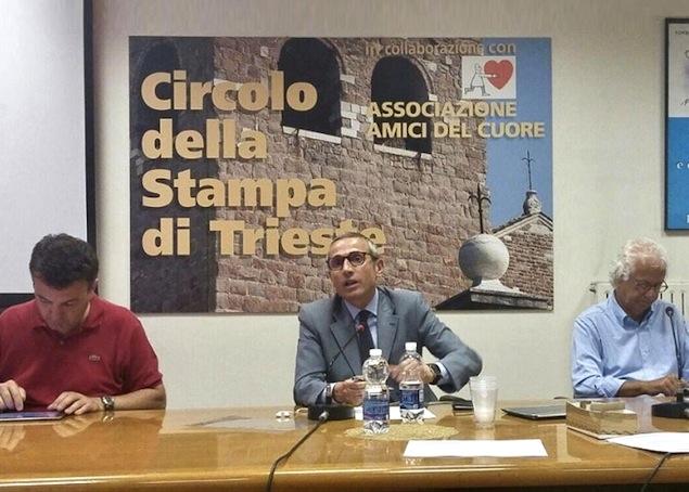 Da sinistra: Alessandro Martegani, Raffaele Lorusso e Carlo Muscatello
