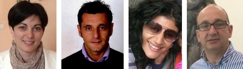 La nuova Consulta della Casagit Calabria: Luisa Lombardo, Pier Paolo Cambareri, Antonietta Catanese e Rosario Stanizzi (delegato Sgc)