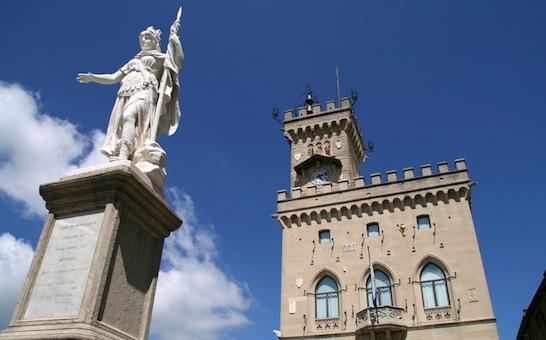 Il Palazzo del Governo di San Marino