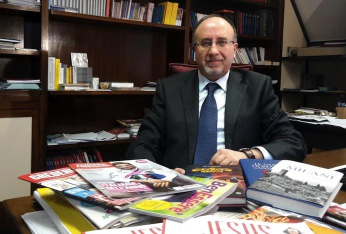 Don Rosario Uccellatore, amministratore delegato del Gruppo San Paolo