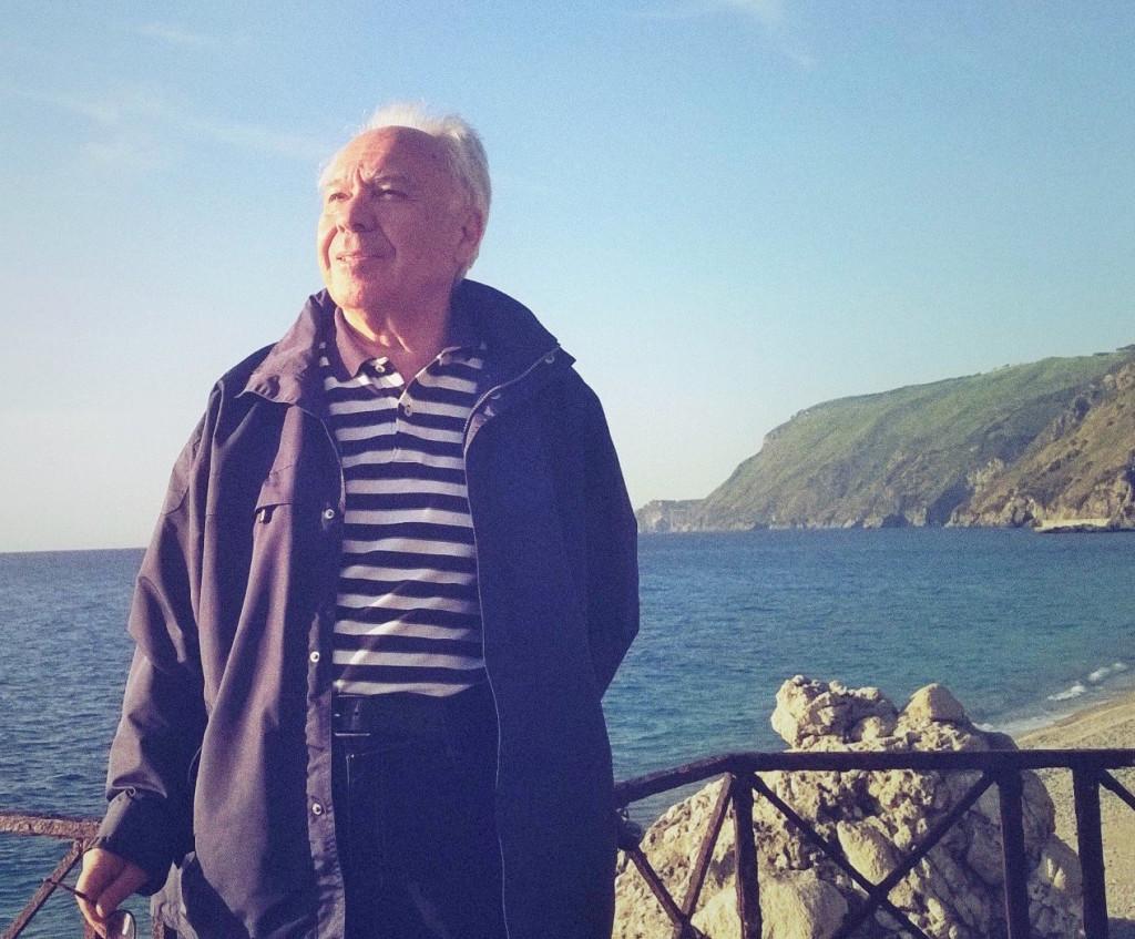 Mimmo Nunnari immortalato tra le meraviglie della sua Calabria