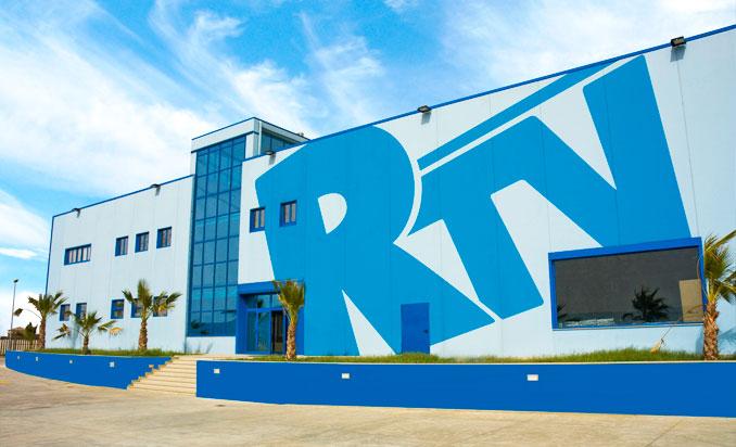 """Lo stabilimento dell'emittente """"Reggio TV"""" a Campo Calabro"""
