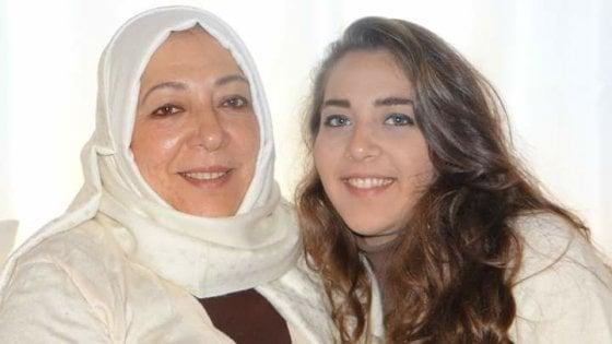 Aruba Barakat e la figlia Hala