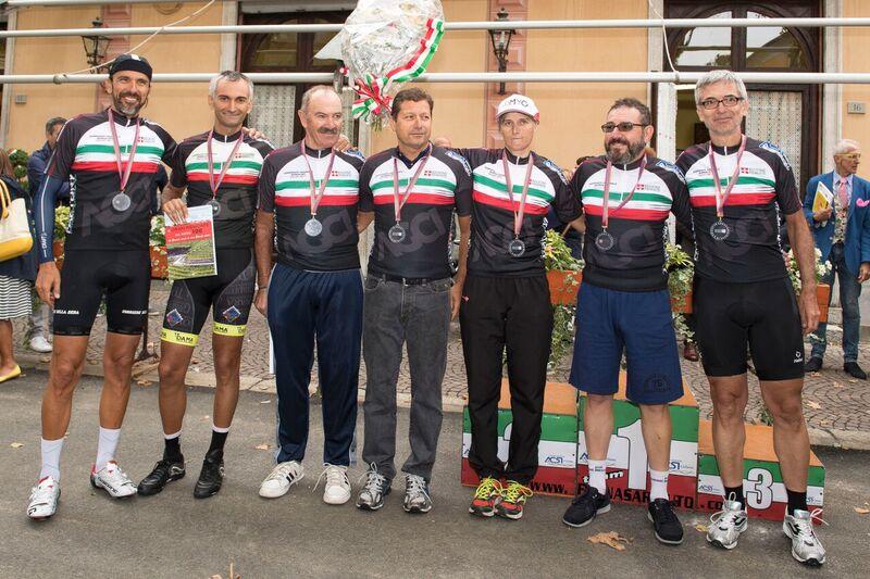 I giornalisti campioni italiani 2017 di ciclismo su strada