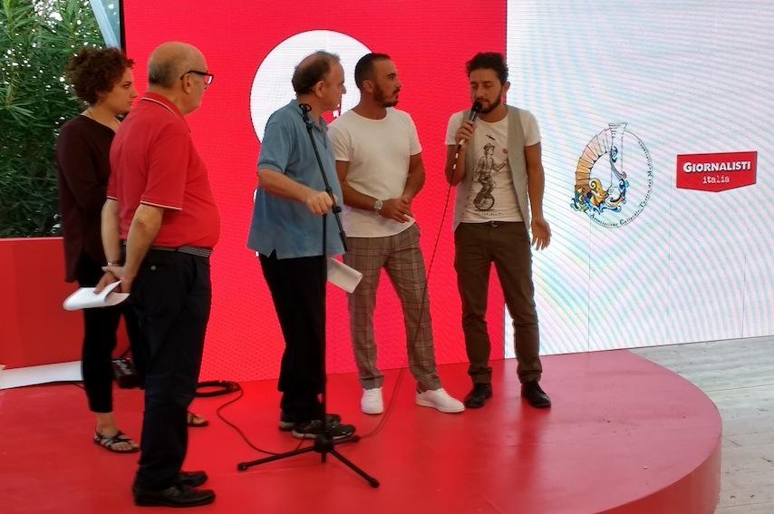 Da sinistra: Paolo Micalizzi, Francesco Votano, Francesco Di Leva e Ciro Petrone
