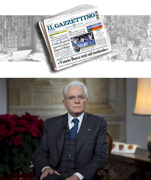 Il presidente della Repubblica Sergio Mattarella sarà al 130° de Il Gazzettino