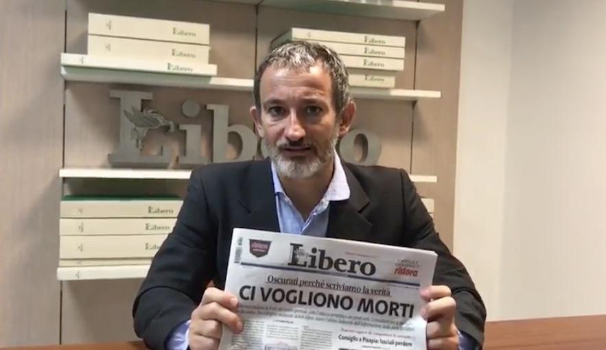 Pietro Senaldi, direttore responsabile di Libero