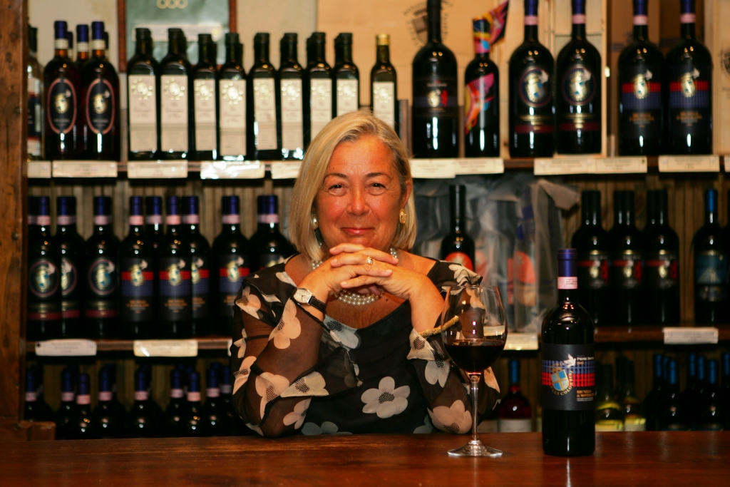Donatella Cinelli Colombini, presidente del Consorzio Vino Orcia