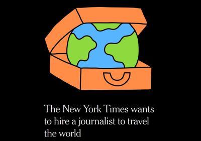 L'annuncio pubblicato sul New York Times