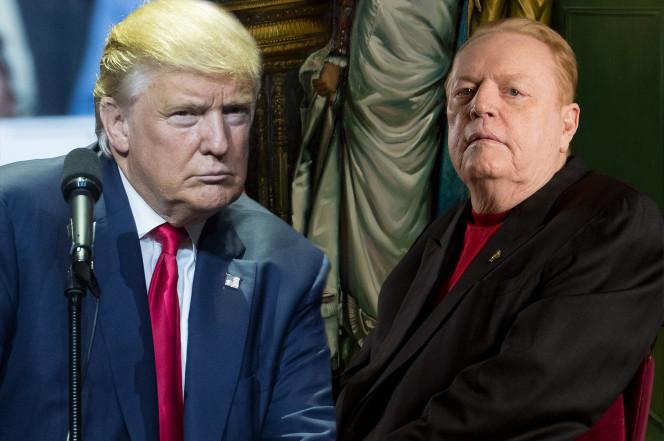 Donald Trump e Larry Flynt