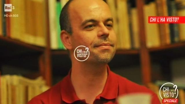 """Beppe Marchetti nell'archivio di """"Chi l'ha visto?"""""""
