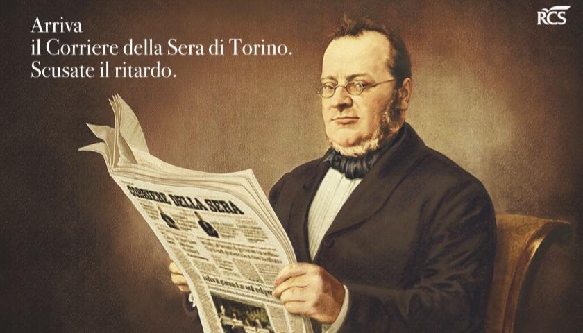 L'immagine scelta da Luciano Fontana per l'editoriale del debutto