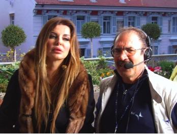 Enzo Cuccaro con Alba Parietti