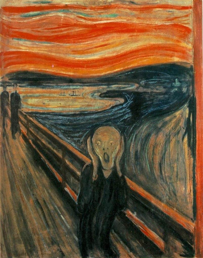 """L'urlo"" di Edvard Munch"