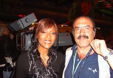 Enzo Cuccaro con Amy Stewart
