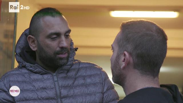 Roberto Spada e Daniele Piervincenzi