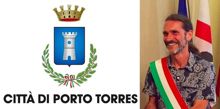 Il sindaco di Porto Torres