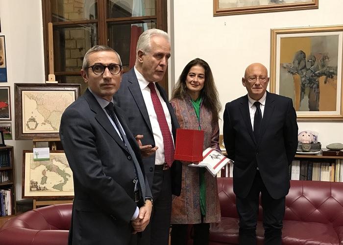Raffaele Lorusso, Corinne Vella e Sandro Bennucci