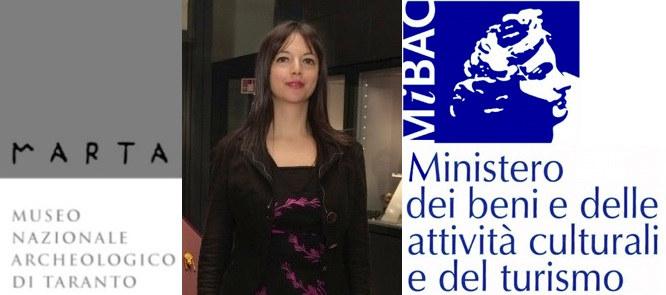 Eva Degl'Innocenti, direttore del Museo Archeologico Nazionale di Taranto