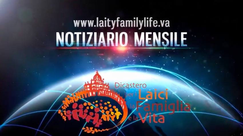 "Il nuovo notiziario di ""Good News"" del Dicastero per i laici, la famiglia e la vita on line su You Tube"