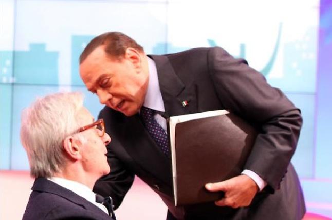 Vittorio Feltri fulmina con una battuta Silvio Berlusconi