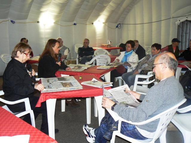 lettura giornali