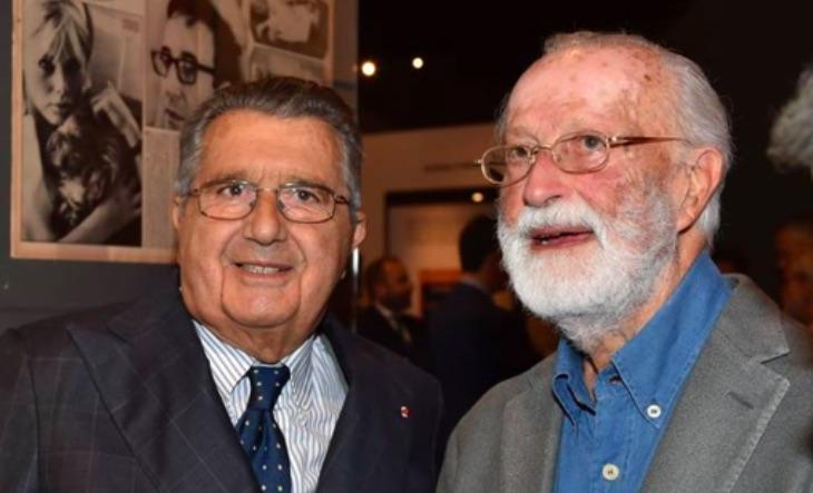 Carlo De Benedetti ed Eugenio Scalfari