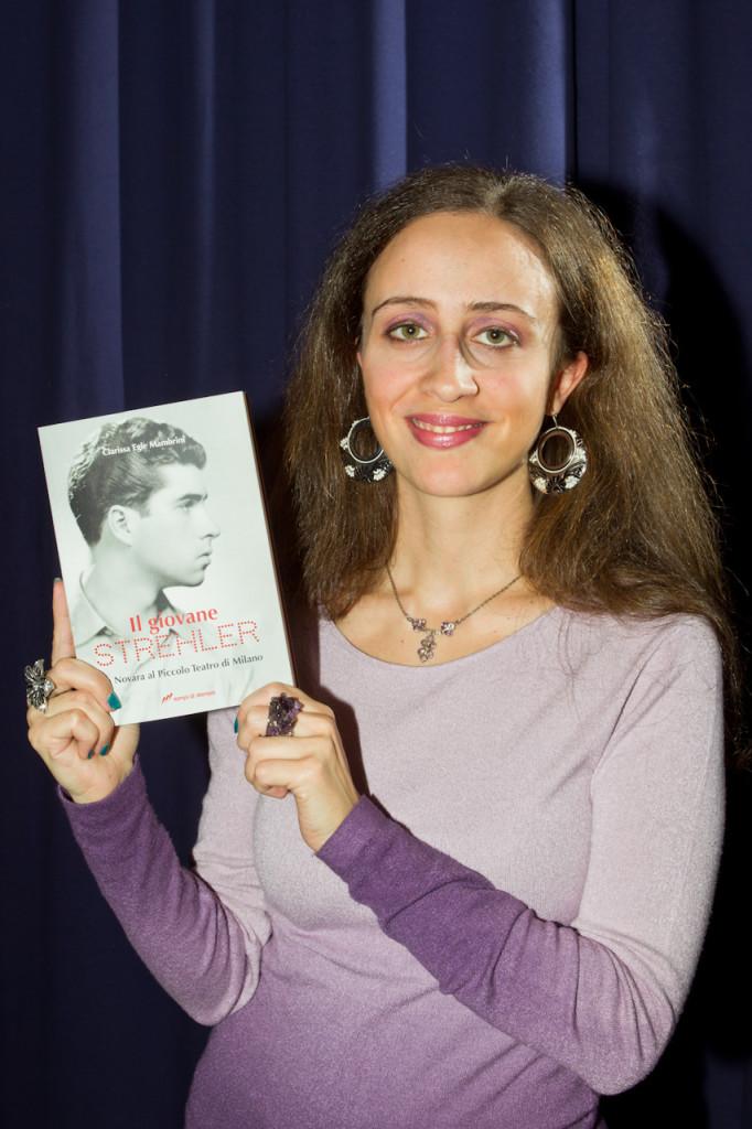 """Clarissa Egle Mambrini e il suo libro """"Il giovane Strehler"""""""