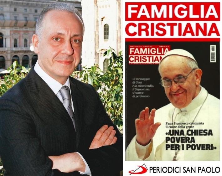 Luciano Regolo, nuovo condirettore di Famiglia Cristiana