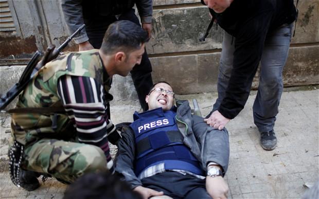 giornalisti siriani
