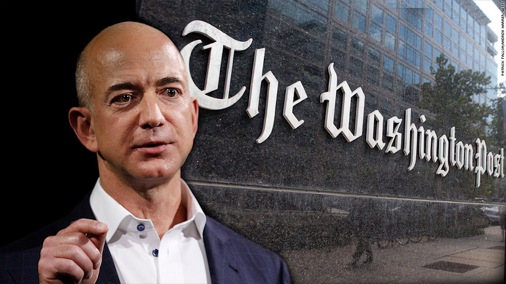 Jeff Bezos: da Amazon al Washington Post