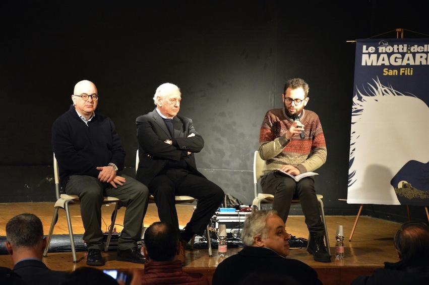 Carlo Parisi, Lorenzo Del Boca e Francesco Cangemi
