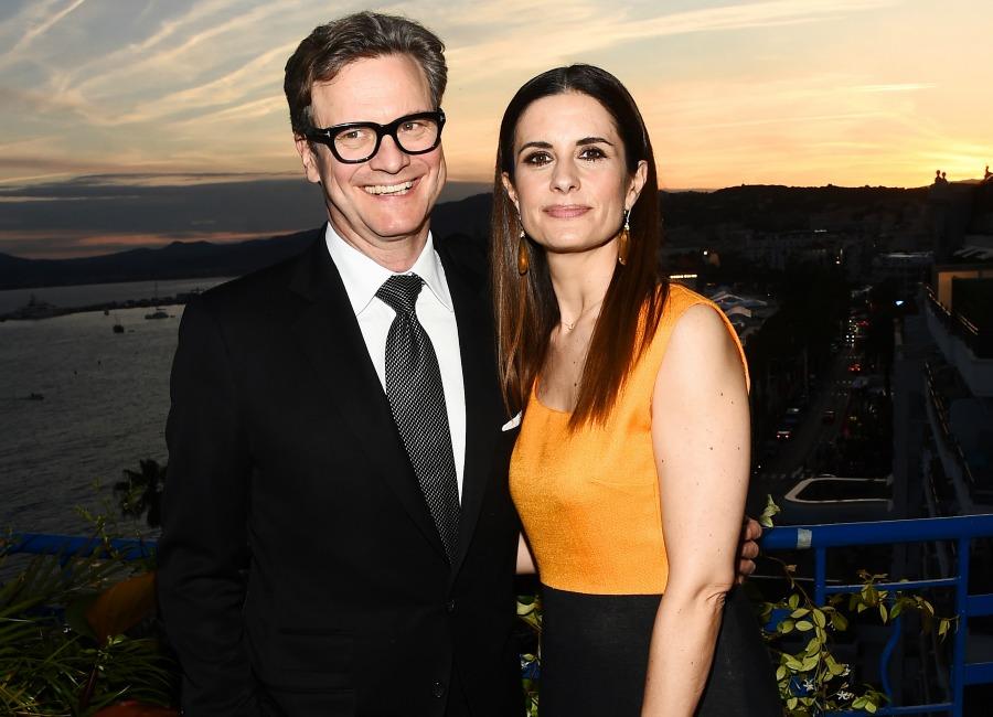 Colin Firth e la moglie Livia Giuggioli
