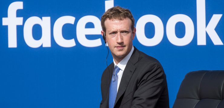 Mark Zuckerberg e il suo Facebook